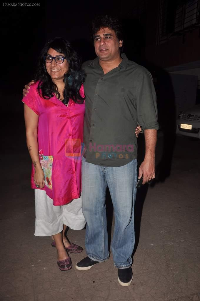 Ayub Khan, Niharika Khan at designer Niharika Khan's house bash in Yari Road on 3rd Jan 2012