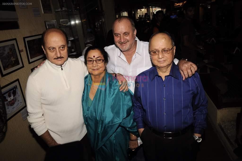 Anupam Kher at Anupam Kher's book launch in Le Sutra on 3rd Jan 2012