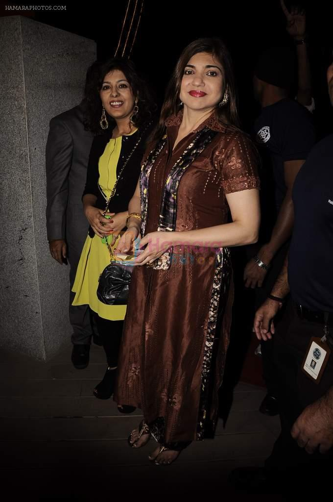 Alka Yagnik at Mangiamo restaurant launch in Bandra, Mumbai on 3rd Jan 2012