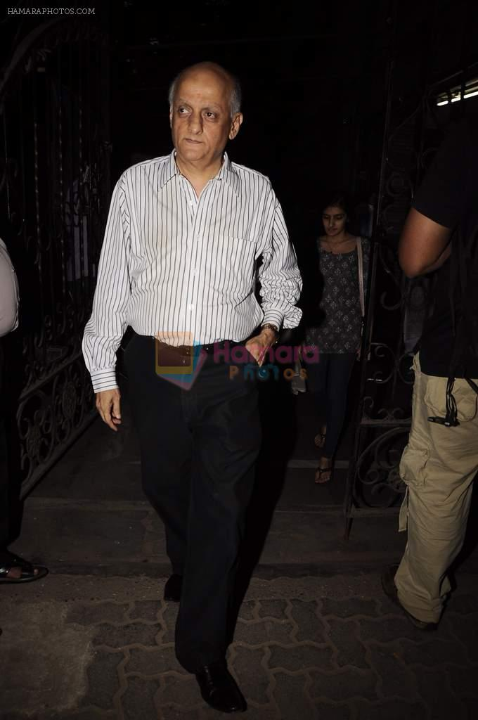 Mukesh Bhatt at Mangiamo restaurant launch in Bandra, Mumbai on 3rd Jan 2012