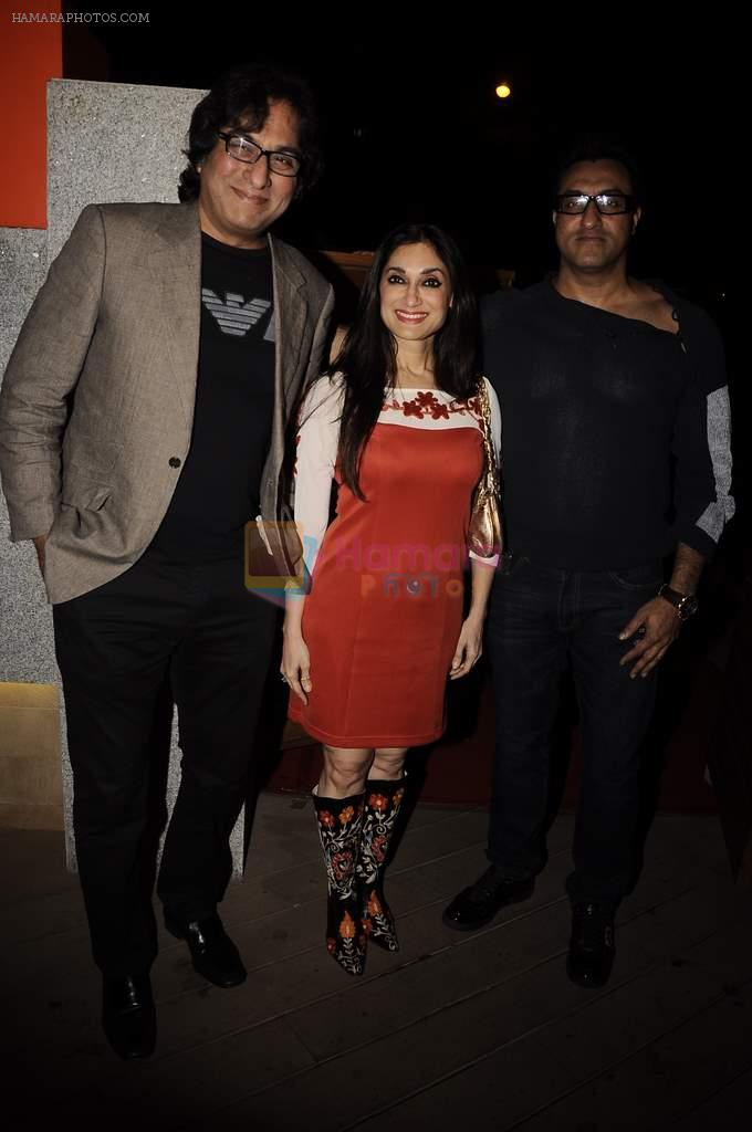 Talat Aziz, Lucky Morani at Mangiamo restaurant launch in Bandra, Mumbai on 3rd Jan 2012