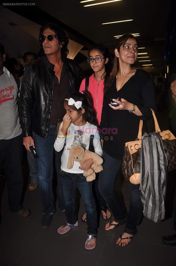 Chunky Pandey return from Dubai on 3rd Jan 2012
