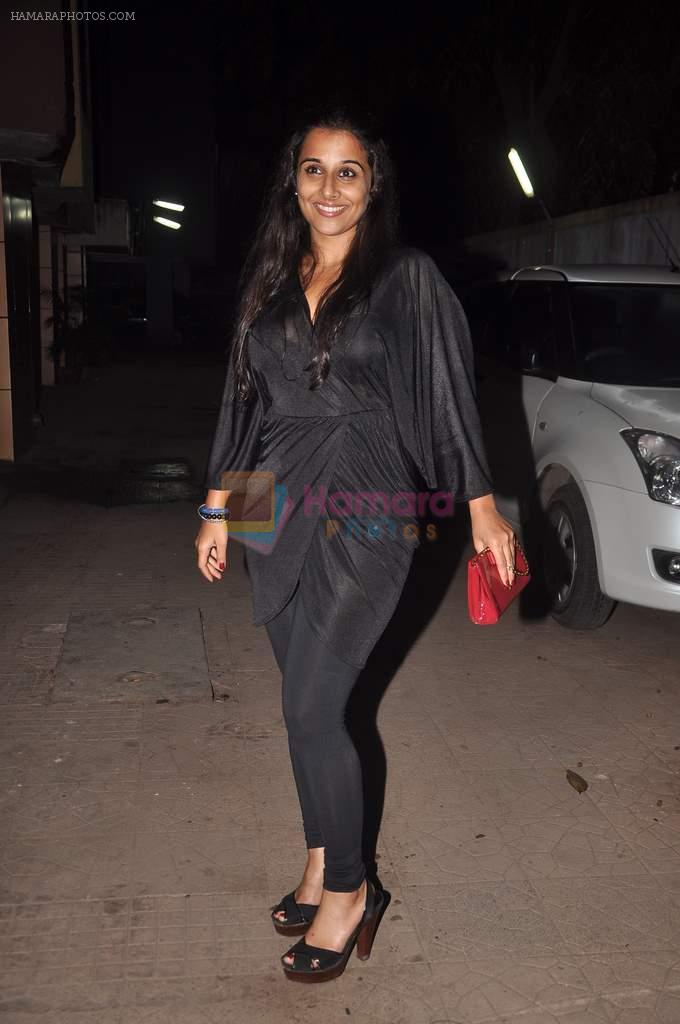 Vidya Balan at designer Niharika Khan's house bash in Yari Road on 3rd Jan 2012