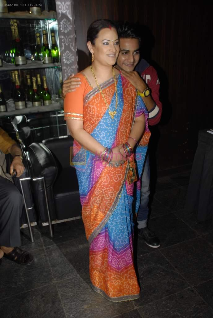 at the launch of Colors new show Na Bole Tum Na Maine Kuch Kaha in Vie Lounge on 4th Jan 2012