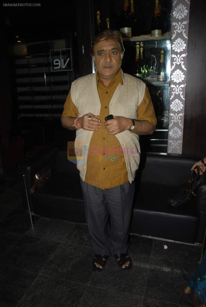 Anjan Srivastav at the launch of Colors new show Na Bole Tum Na Maine Kuch Kaha in Vie Lounge on 4th Jan 2012