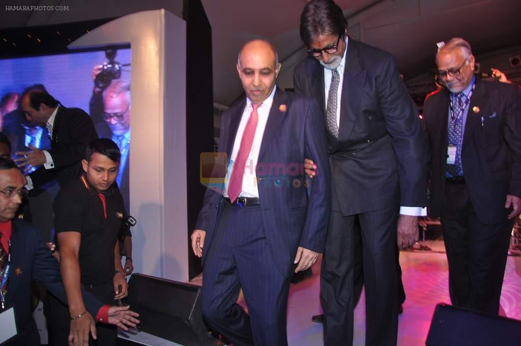 Amitabh Bachchan at IDMA conference in Lalit Hotel on 6th Jan 2012
