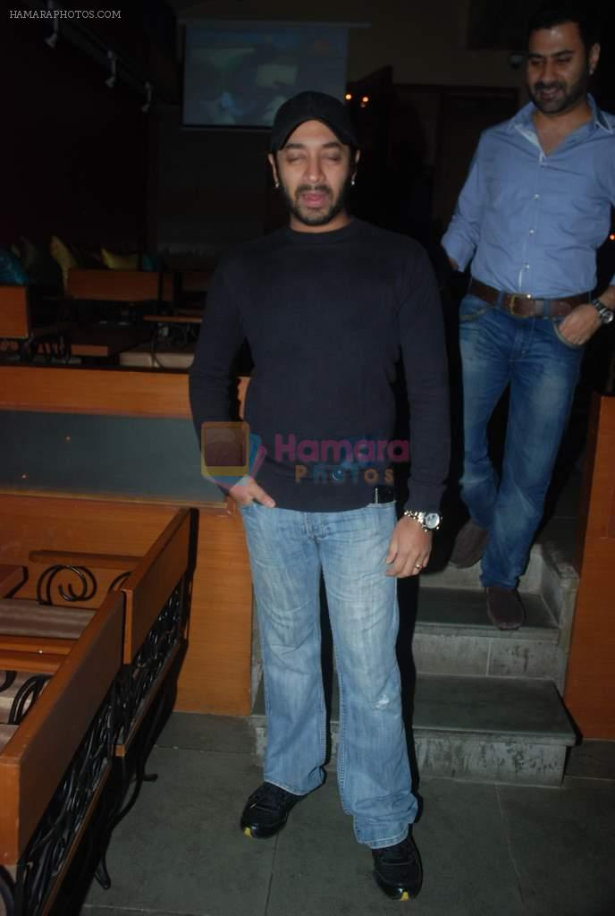 Hiten Paintal at Meet Brothers party in Bawa Bistro on 15th Jan 2012