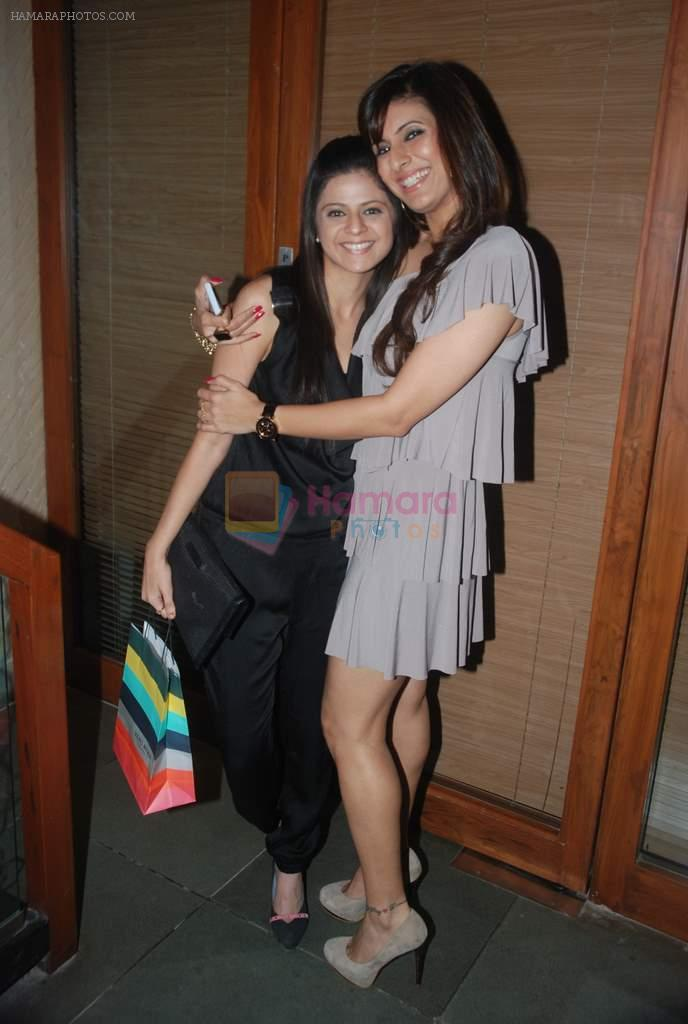 Rucha Gujrathi at Meet Brothers party in Bawa Bistro on 15th Jan 2012