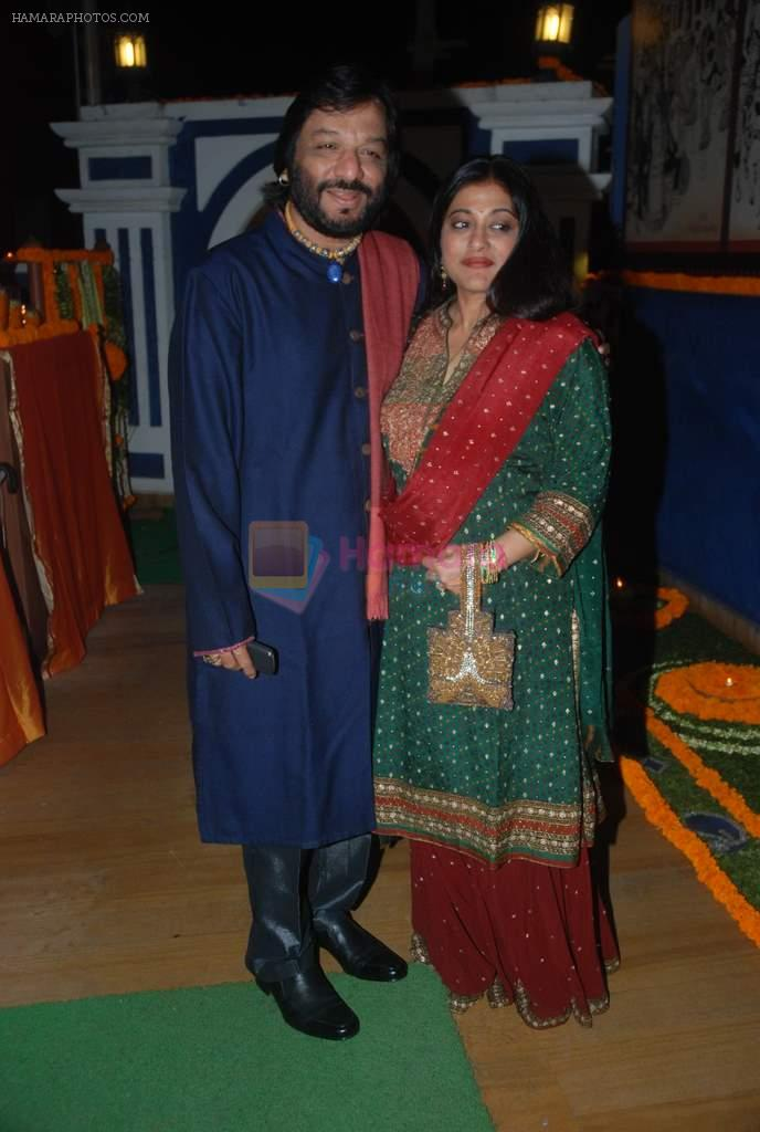 Roop Kumar Rathod, Sonali Rathod at Suhas Awchat's son Sangeet Ceremony in Mumbai on 26th Jan 2012