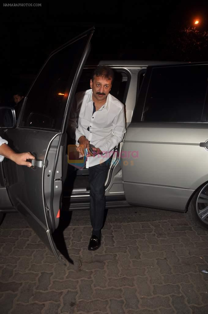 Baba Siddique at Sanjay Dutt's bash in Aurus on 29th Jan 2012