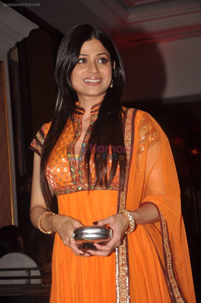 Shamita Shetty at Ritesh & Genelia's Sangeet Ceremony in Taj Lands end, Mumbai on 31st Jan 2012