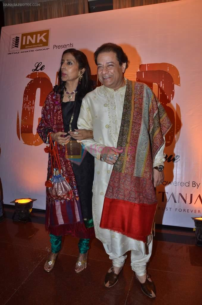 Anup Jalota at Le Club Musique launch in Trident, Mumbai on 1st Feb 2012