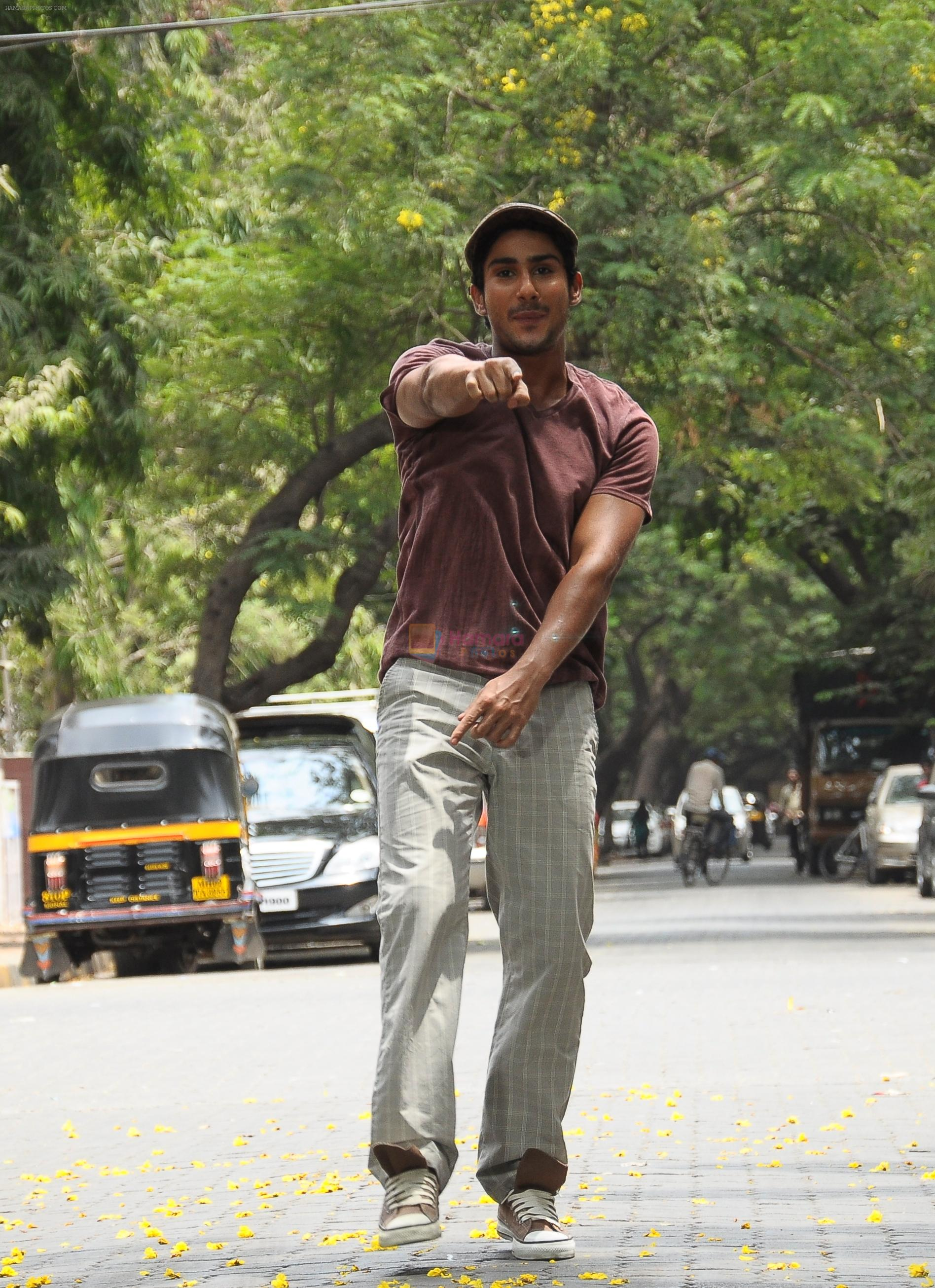 Prateik Babbar in the still from movie Ekk Deewana Tha