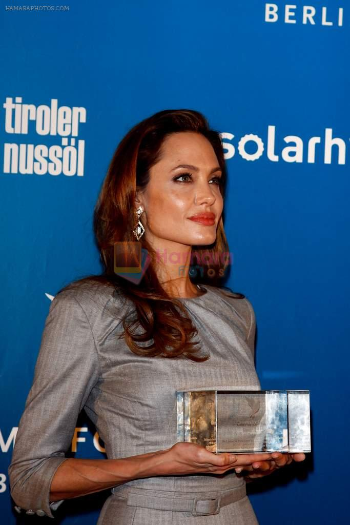 Angelina Jolie at Cinema for Peace in Berlin on 13th Feb 2012