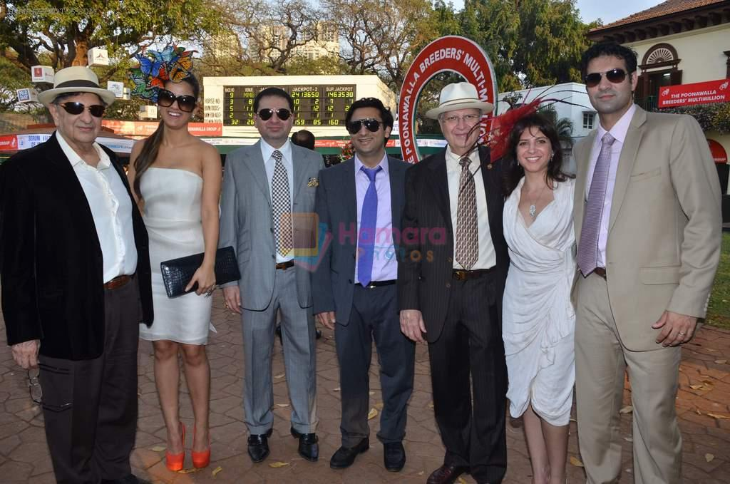 at Poonawala breeders Multi Million race in Mumbai on 26th Feb 2012