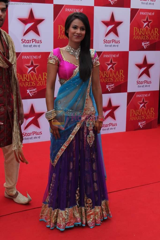 at star parivar award on 9th March 2012