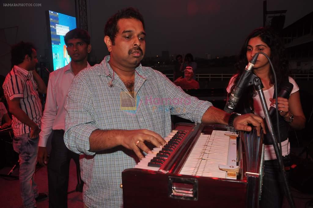 Shankar Mahadevan at RWITC shankar ehsaan loy unplugged concert in Mumbai on 10th March 2012