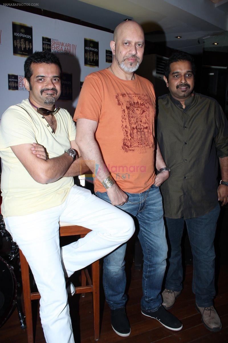 Shankar Mahadevan, Ehsaan Noorani, Loy Mendonsa at Shankar Ehsaan Loy Live in Concert on 13th March 2012
