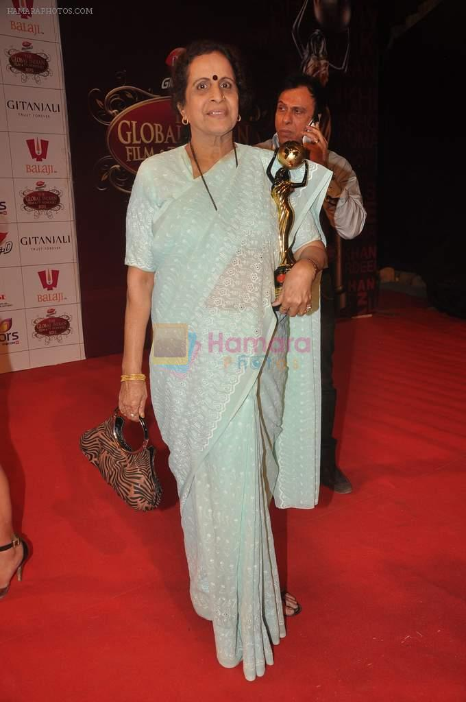 Usha Nadkarni at The Global Indian Film & Television Honors 2012 in Mumbai on 15th March 2012