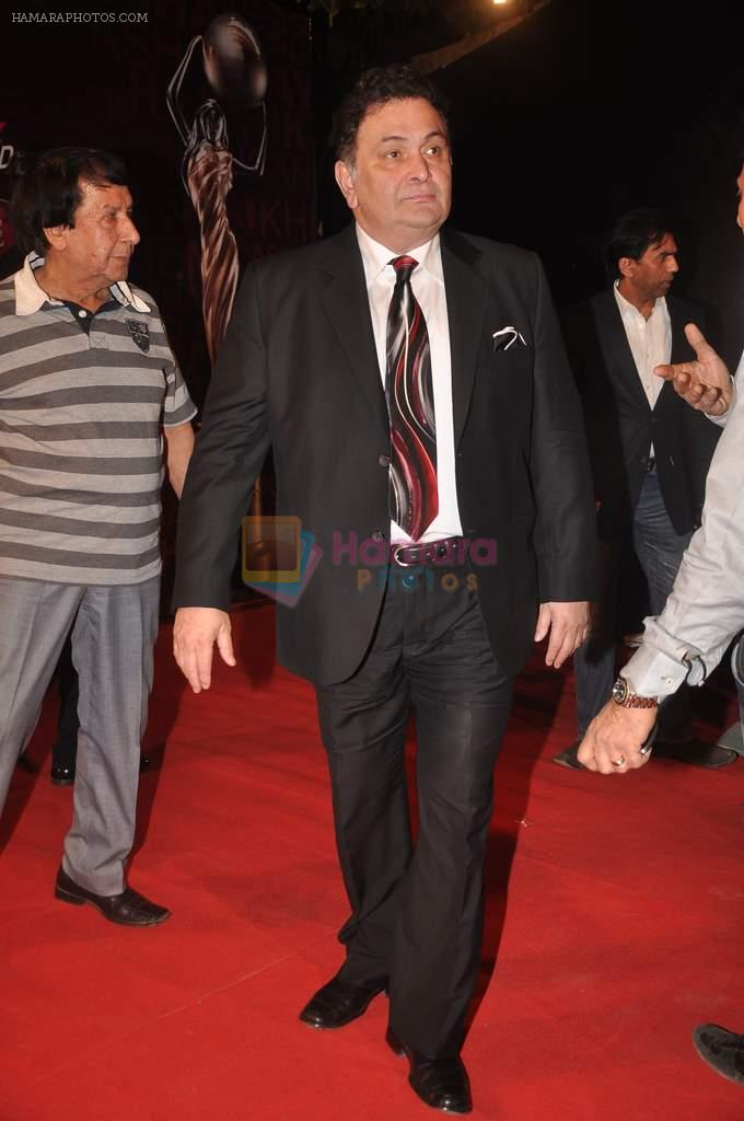 Rishi Kapoor at The Global Indian Film & Television Honors 2012 in Mumbai on 15th March 2012