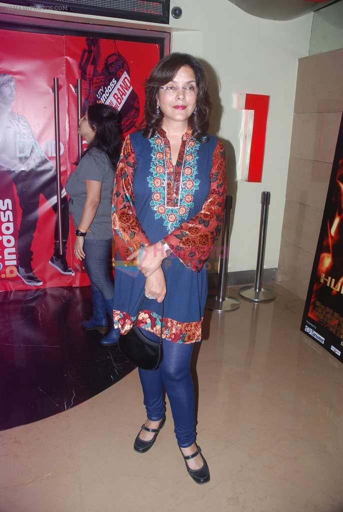 Zeenat Aman at Zindagi Tere Naam premiere in PVR on 15th March 2012