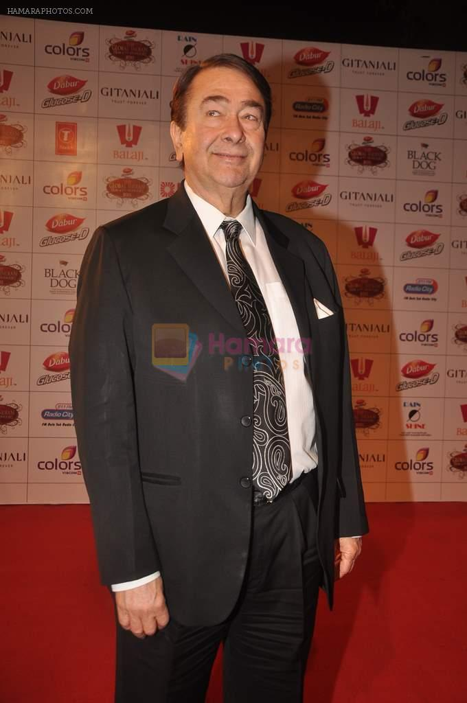 Randhir Kapoor at The Global Indian Film & Television Honors 2012 in Mumbai on 15th March 2012