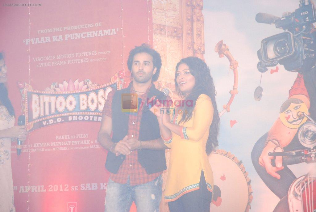 Pulkit Samrat, Amita Pathak at the launch of Bitto Boss album in Andheri, Mumbai on 16th March 2012