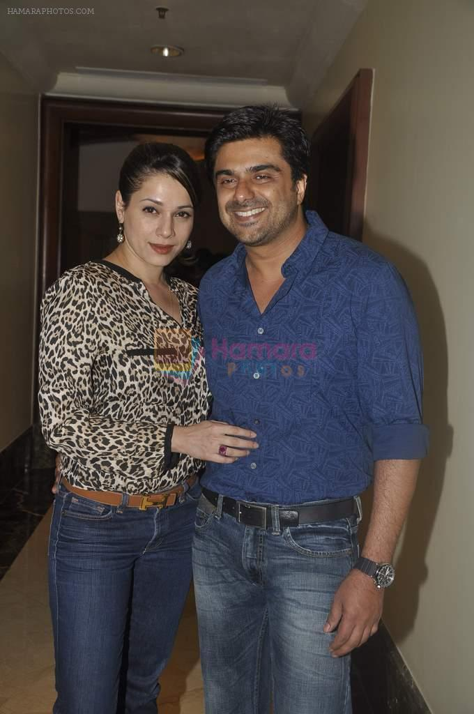 Neelam Kothari, Sameer Soni at anti aeging clinic launch by Sunita Banerjee in J W MArriott, Mumbai on 17th March 2012