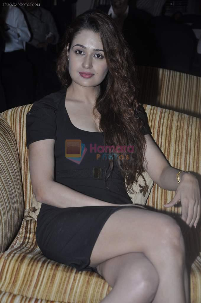 Yuvika Chaudhary at anti aeging clinic launch by Sunita Banerjee in J W MArriott, Mumbai on 17th March 2012