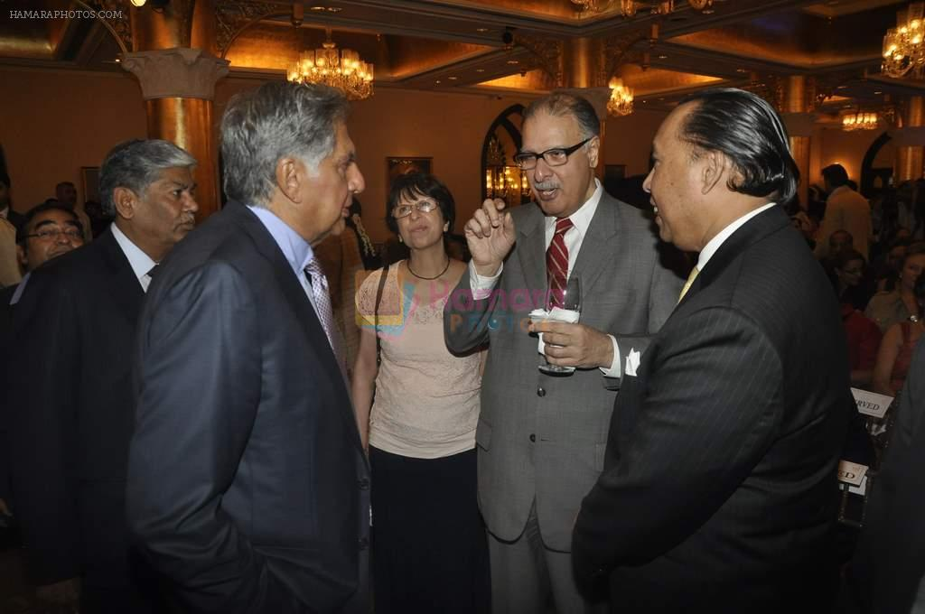 Ratan Tata at the launch of A Glimpse of Empire book in Taj Hotel, Mumbai on 18th March 2012
