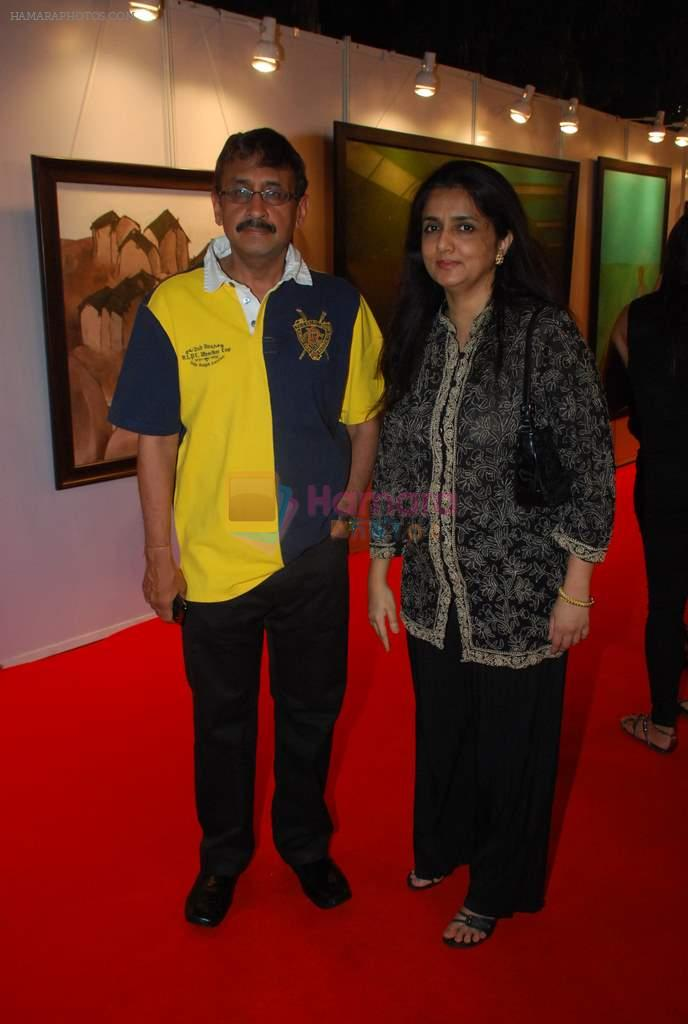 at the Preview of Osian art auction in Nariman Point on 19th March 2012
