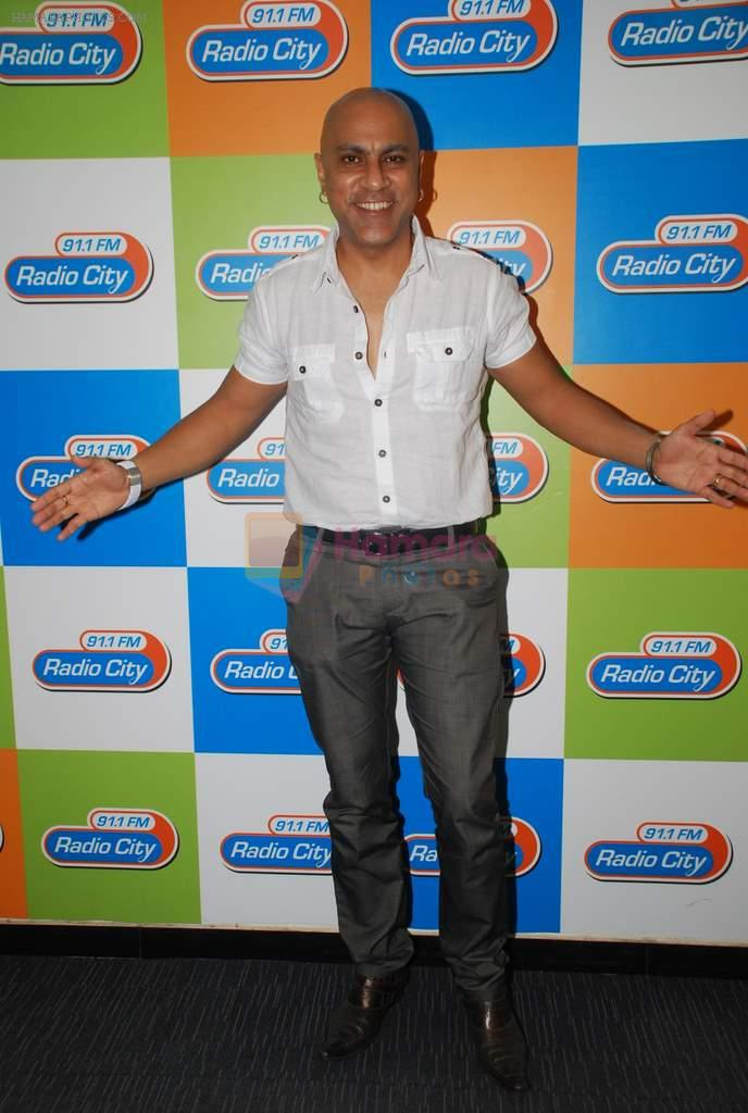 Baba Sehgal launches new album with Radio City in Bandra, Mumbai on 20th March 2012