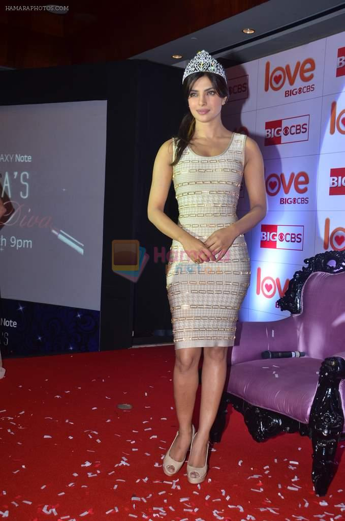 Priyanka Chopra at CBS Love show launch in Novotel on 20th March 2012