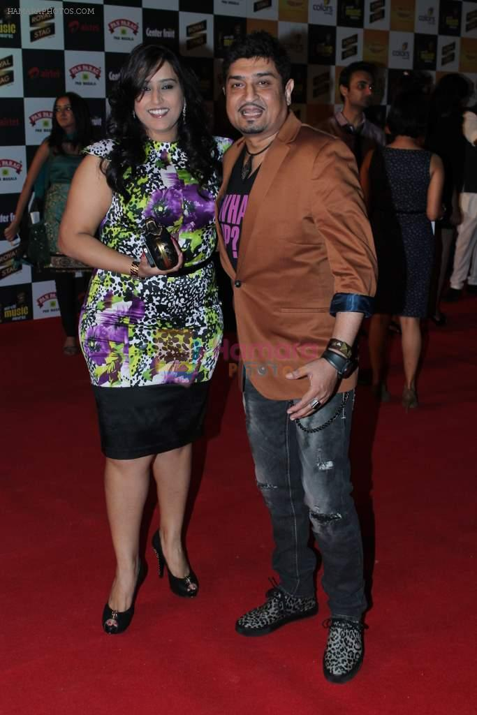 Neeraj Shridhar at Mirchi Music Awards 2012 in Mumbai on 21st March 2012
