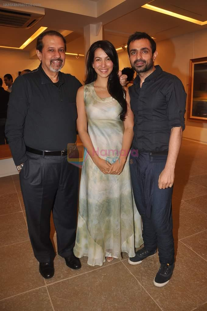 Shraddha Nigam, Mayank Anand  at Paresh Maity art event in ICIA on 22nd March 2012