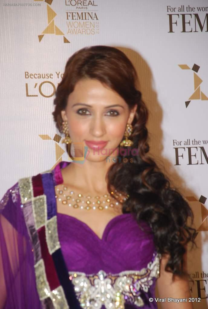 Alecia Raut at Loreal Femina Women Awards in Mumbai on 22nd March 2012