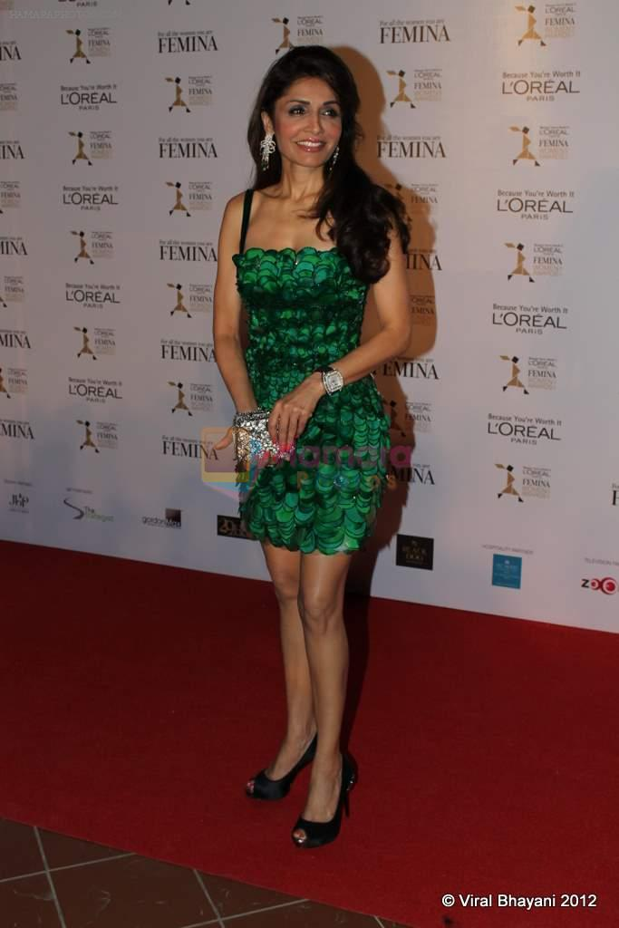 Queenie Dhody at Loreal Femina Women Awards in Mumbai on 22nd March 2012