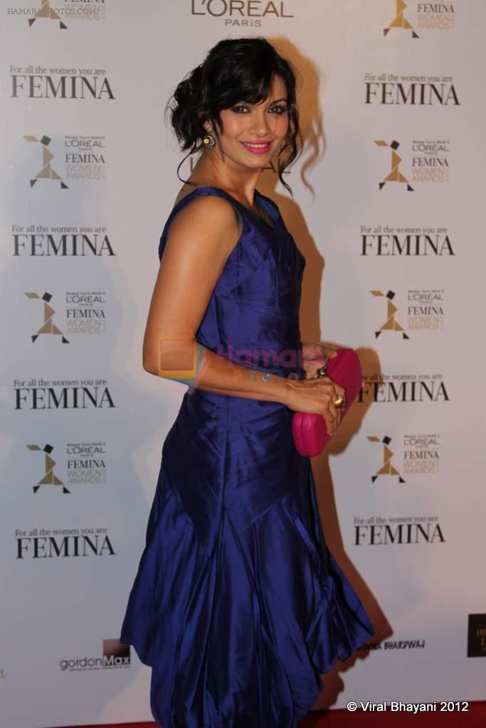 Maria Goretti at Loreal Femina Women Awards in Mumbai on 22nd March 2012