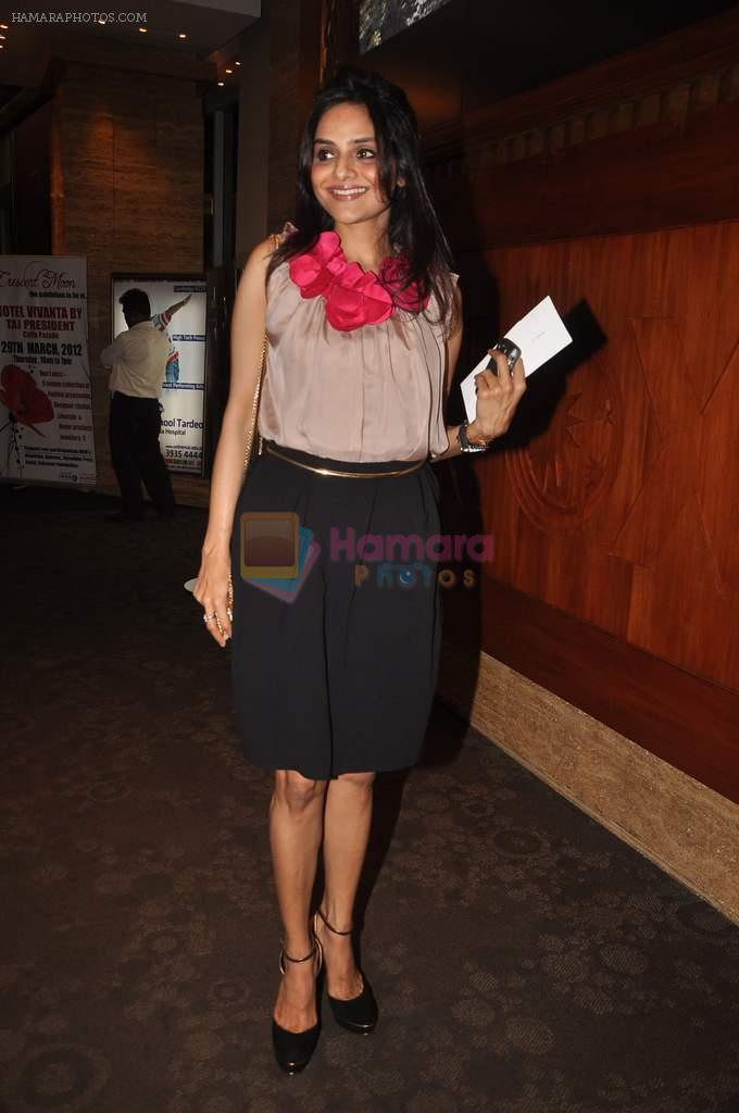 Madhoo Shah at Agent Vinod Screening in INOX, Mumbai on 22nd March 2012