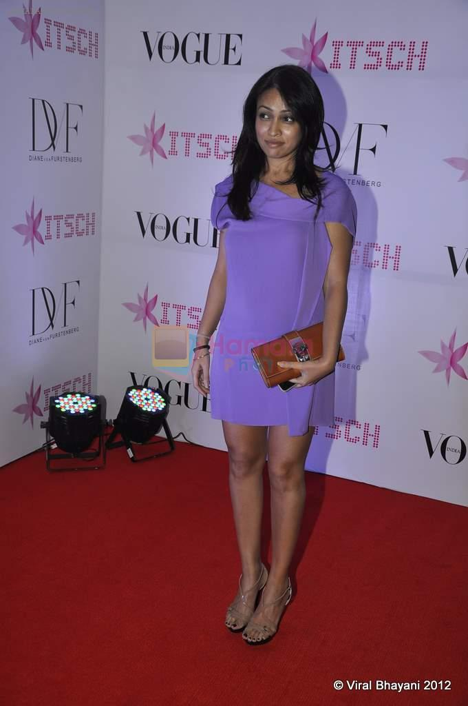 Surily Goel at DVF-Vogue dinner in Mumbai on 22nd March 2012