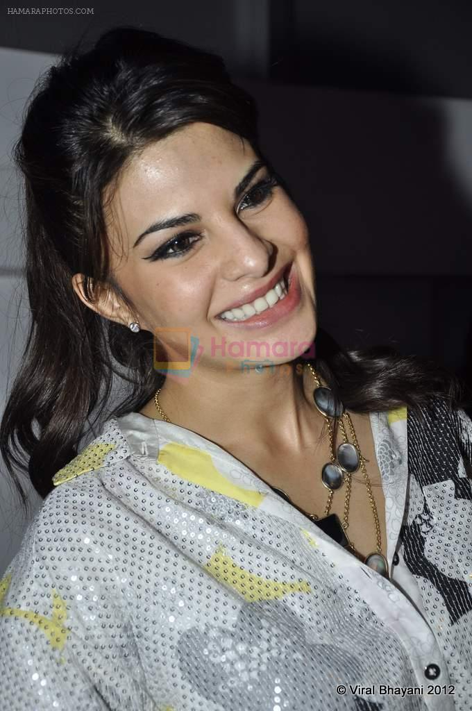 Jacqueline Fernandez at DVF-Vogue dinner in Mumbai on 22nd March 2012