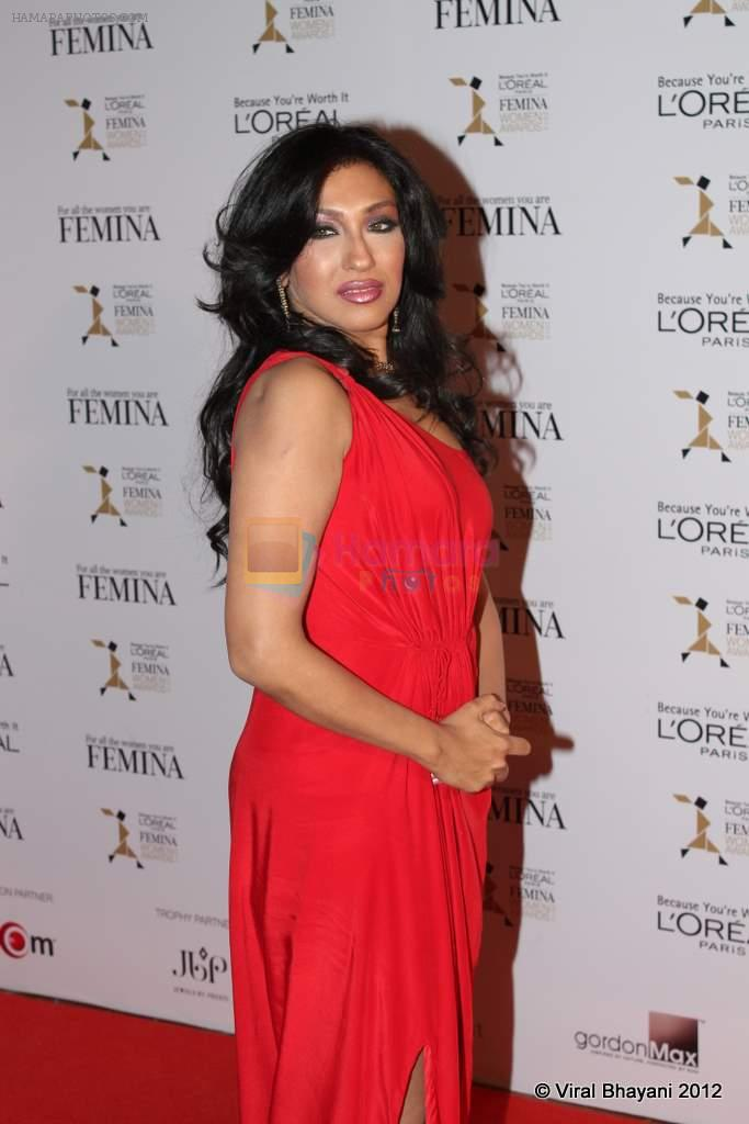 at Loreal Femina Women Awards in Mumbai on 22nd March 2012