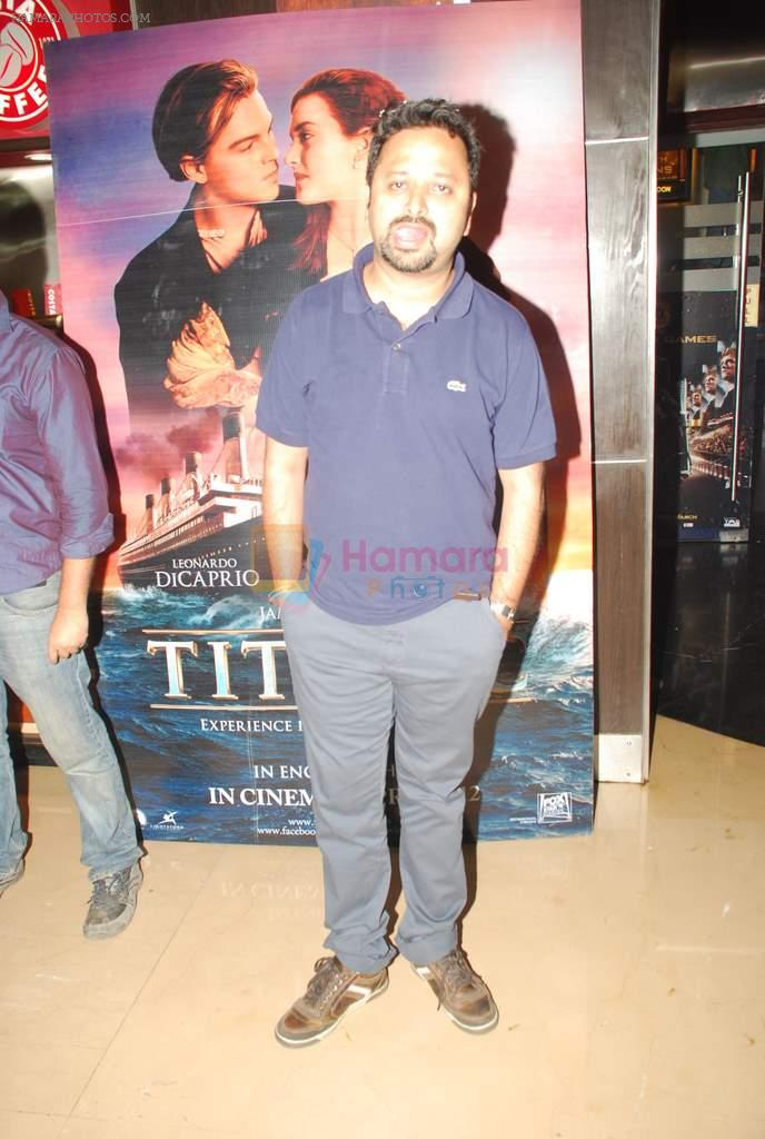 at Titanic 3D screenng in PVR, Juhu on 22nd March 2012