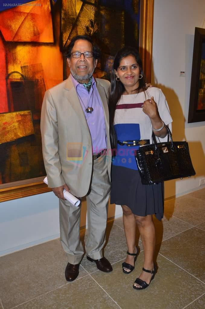 at Paresh Maity art event in ICIA on 22nd March 2012