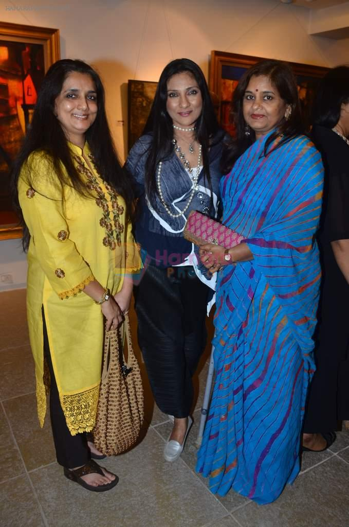 Aarti Surendranath at Paresh Maity art event in ICIA on 22nd March 2012