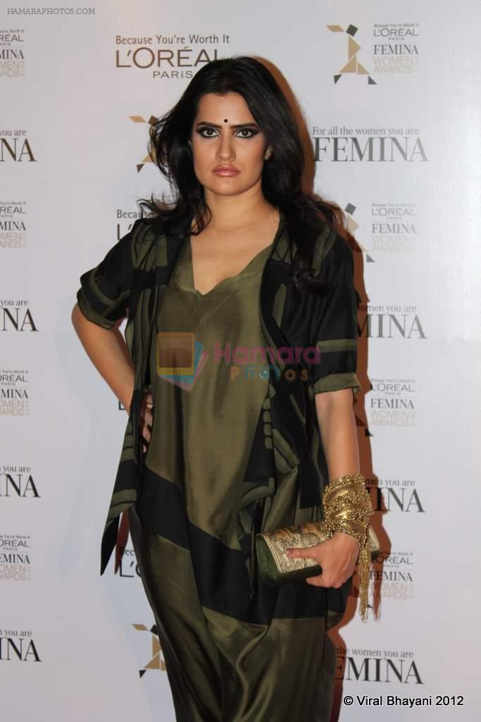 Shona Mohapatra at Loreal Femina Women Awards in Mumbai on 22nd March 2012
