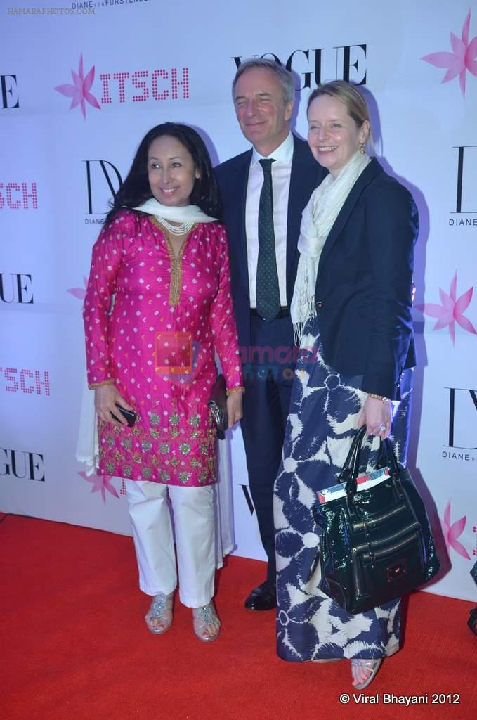 at DVF-Vogue dinner in Mumbai on 22nd March 2012