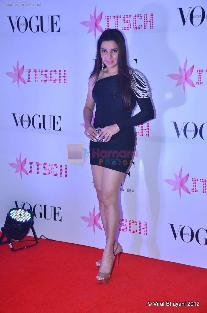 Kehkashan Patel at DVF-Vogue dinner in Mumbai on 22nd March 2012