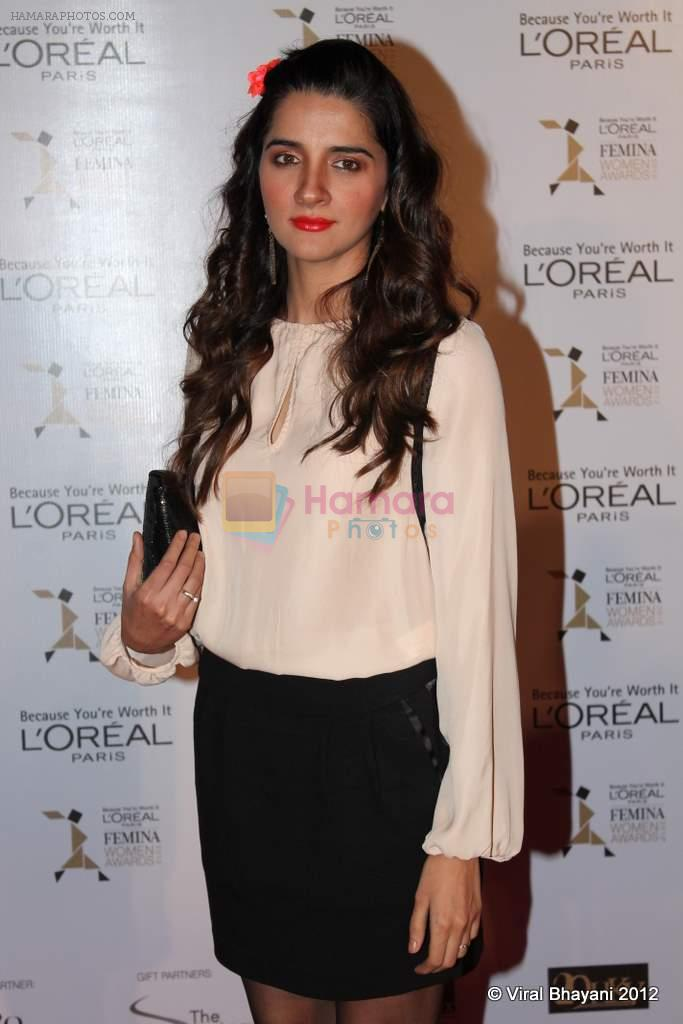 Shruti Seth at Loreal Femina Women Awards in Mumbai on 22nd March 2012