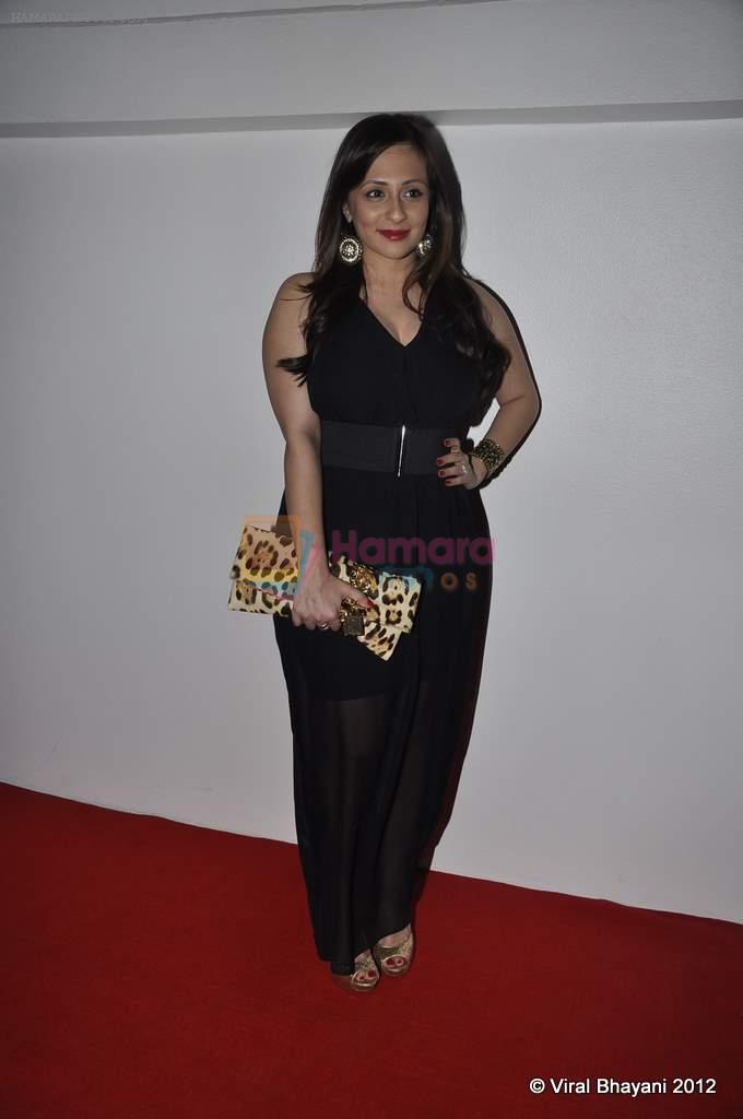Avantika Malik at DVF-Vogue dinner in Mumbai on 22nd March 2012